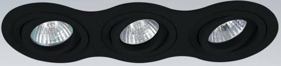 Встраиваемый светильник Lightstar Intero 16 214237 lightstar 214237 светильник intero 16 hp16х3 черный шт