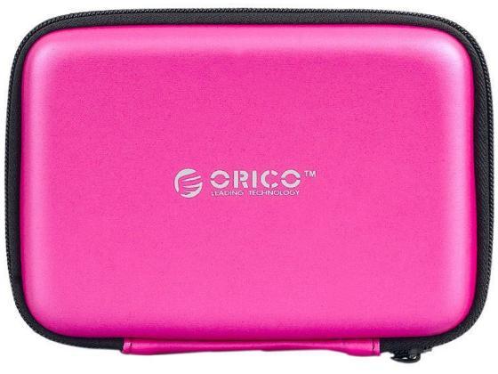 Чехол для HDD 2.5 Orico PHB-25-PK розовый чехол для жесткого диска 2 5 orico phd 25 красный