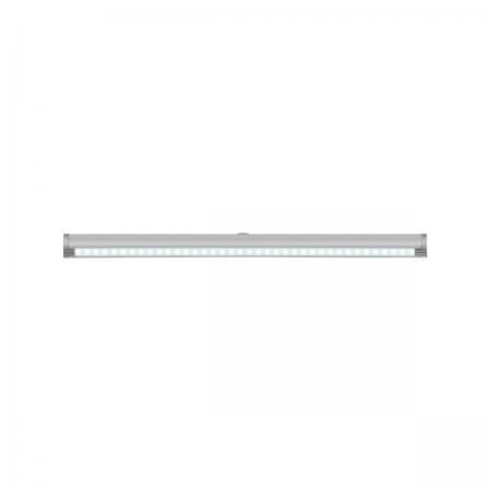 Подсветка накладная с датчиками (07729) Uniel ULE-F02-2W/NW/OS IP20 Silver подсветка для картин ul 00001057 uniel ult f32 9w nw ip20 silver
