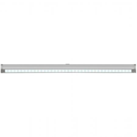 Подсветка накладная с датчиками (07731) Uniel ULE-F02-4,5W/NW/OS IP20 Silver uniel ulo cl120 40w nw silver