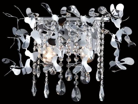 Настенный светильник Crystal Lux Romeo AP2 Chrome crystal lux romeo ap2 gold