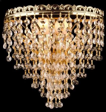 Настенный светильник Eurosvet 3402/2 золото Strotskis epos 3402 142 20 34 25