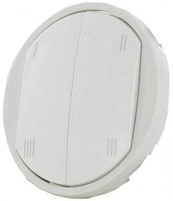 Лицевая панель Legrand Celiane для выключателя сценариев Zigbee белый 68170 legrand legrand celiane беж лицевая панель для звонка 066273