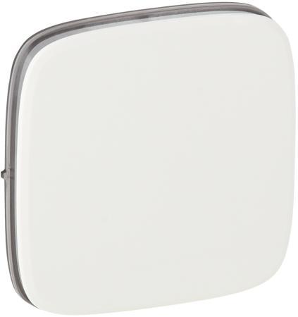Лицевая панель Legrand Valena Allure для выключателей одноклавишных белый 755005 блок выключателей glen gelan 16a