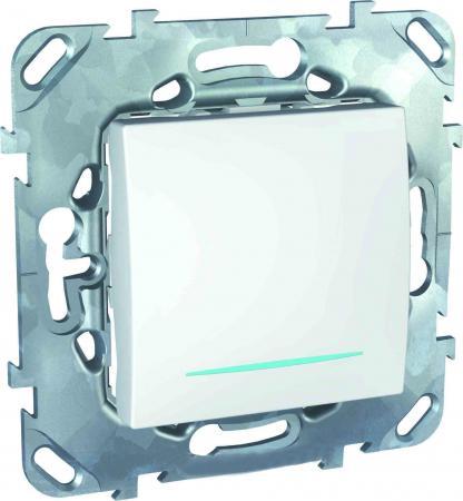 Выключатель Schneider Electric 1-клавишный белый MGU5.206.18NZD  выключатель schneider electric 1 клавишный белый sdn0100121
