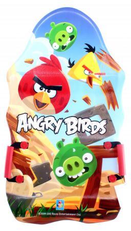 Ледянка 1Toy Angry Birds пластик рисунок Т56333 ледянка 1toy angry birds пластик рисунок