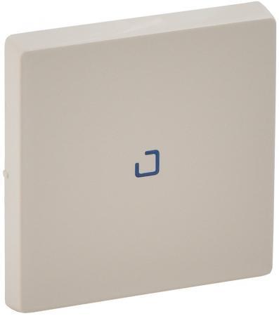 Лицевая панель Legrand Valena Life для выключателя 1-клавишного с подсветкой слоновая кость 755101