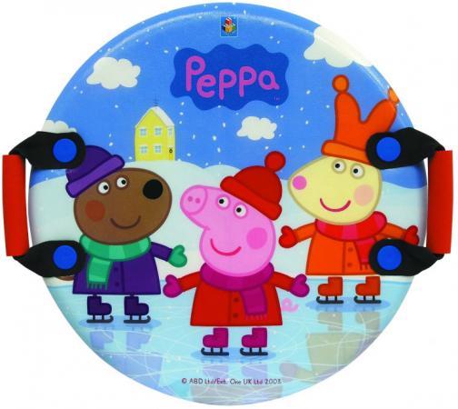 Ледянка Peppa Pig Peppa Т57001 до 100 кг пластик текстиль ПВХ рисунок разноцветный provoc gel lip liner гелевая подводка в карандаше для губ цвет тон 49 sexy scarlet бордовый
