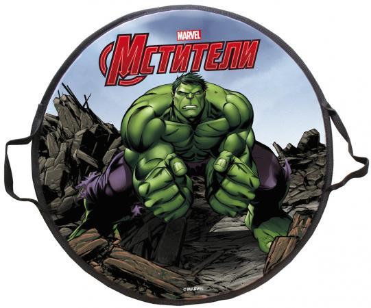 Ледянка 1toy Marvel Hulk 52 см разноцветный ледянка marvel hulk 52 см круглая т58170