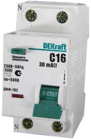 Выключатель дифференциального тока Schneider Electric 1П+N 32A 30мА AC 16006DEK