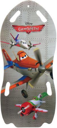 Ледянка 1toy Самолеты (для двоих) Т56366 до 150 кг пластик разноцветный рисунок ледянка disney самолеты для двоих 122см т56366