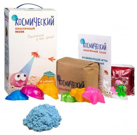 Кинетический песок Космический песок Космический песок Голубой 1 цвет КП01Г20Н Т58575 кинетический песок транспорт 800 г 12180030р