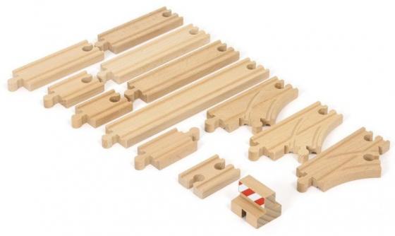 Набор Brio Базовый набор ж/д рельс с 3-х лет 7312350333947 игровой набор ж д с минифермой и кормушкой brio