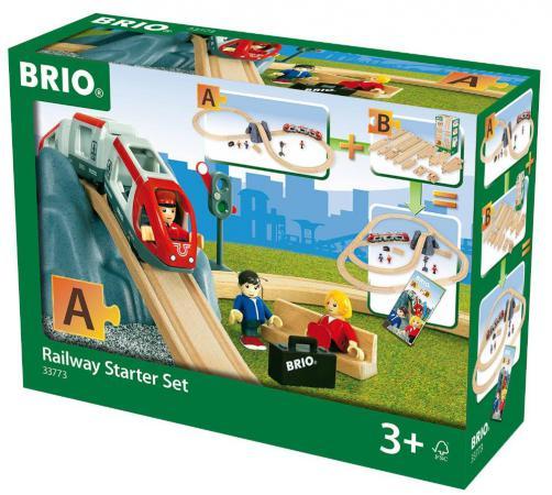 Железная дорога Brio Стартовый набор - А с 3-х лет железная дорога brio классика делюкс 25 эл 45х8х27см кор