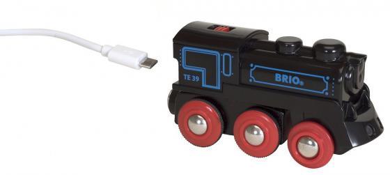 Подзаряжаемый паровоз Brio с mini USB кабелем подзаряжаемый паровоз brio с mini usb кабелем