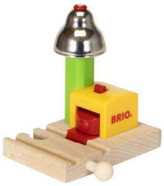Набор Brio сигнальный колокольчик с 18 месяцев 33707 погрузчик с вращением с магнитом блист brio
