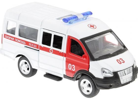 Интерактивная игрушка Play Smart 3221 скорая от 3 лет бело-красный 6721 игрушка play smart газель 3221 пожарная р40526