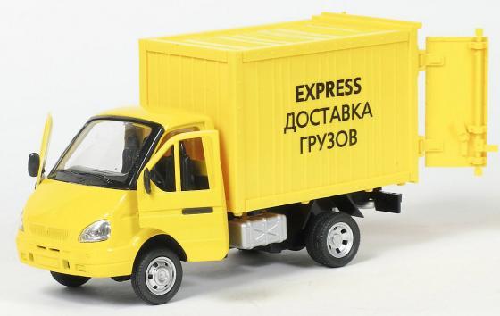 Интерактивная игрушка Play Smart Газель фургон Доставка от 3 лет жёлтый 6721 игрушка play smart газель 3221 пожарная р40526
