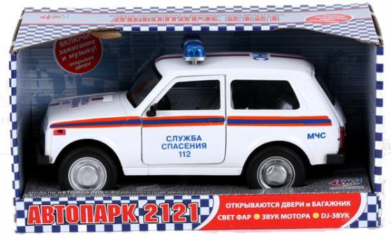 Интерактивная игрушка Play Smart Нива ВАЗ 2121 МЧС от 3 лет белый автомат play smart снайпер р41399