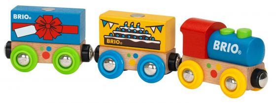 Паровозик Brio «День Рождения» 33818 brio поезд 33595
