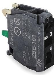 Блок контактный Schneider Electric ZBE101 блок светодиодный schneider electric 24в красный zbvb4