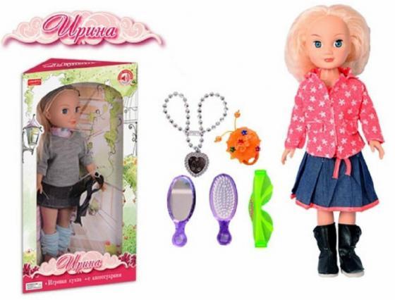 Кукла Zhorya Ирина с аксессуарами 40 см со звуком Х75839 кукла zhorya ирина х76251