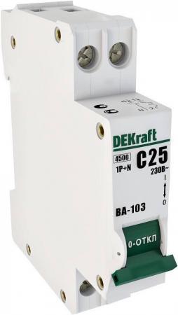 Автоматический выключатель Schneider Electric ВА103 1N 6A C 12180DEK  автоматический выключатель schneider electric ва103 1n 6a c 12180dek