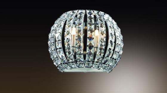 Настенный светильник Odeon Crista 1606/2W