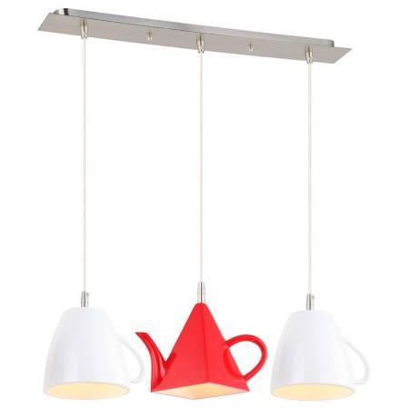 все цены на Подвесной светильник Arte lamp Cafeteria A6605SP-3WH