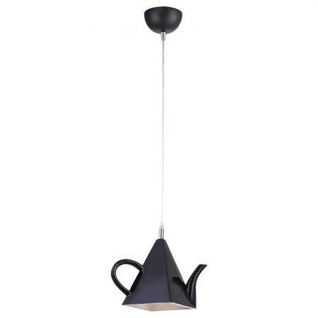 Подвесной светильник Arte Lamp Cafeteria A6604SP-1BK подвесной светильник arte lamp brooklyn a6604sp 3wh