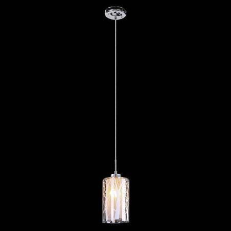 Подвесной светильник Eurosvet 50001/1 хром евросвет подвесной светильник 50001 2 хром