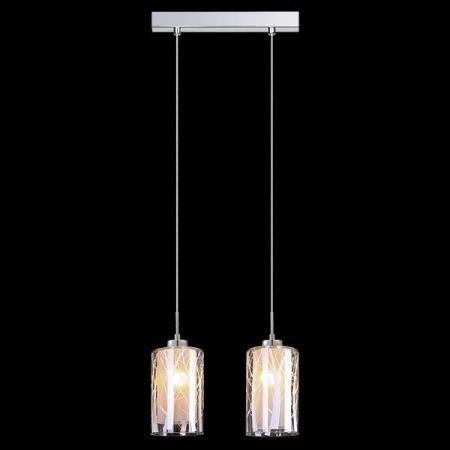 Подвесной светильник Eurosvet 50001/2 хром евросвет подвесной светильник 50001 2 хром
