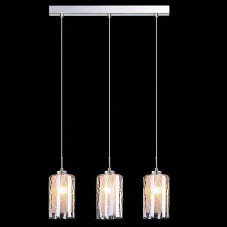 Подвесной светильник Eurosvet 50001/3 хром евросвет подвесной светильник 50001 2 хром