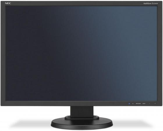 Монитор 24 NEC E245WMi-BK черный PLS 1920x1200 250 cd/m^2 6 ms VGA DVI DisplayPort монитор 24 nec e245wmi белый pls 1920x1200 250 cd m^2 6 ms vga dvi displayport аудио