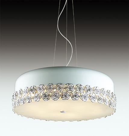 Подвесной светильник Odeon Rosera 2756/9 потолочный светильник odeon light rosera 2756 9c