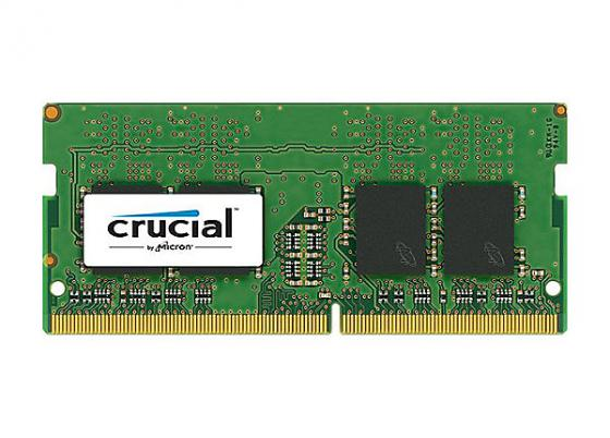Оперативная память для ноутбуков SO-DDR4 8Gb PC17000 2133MHz Crucial CT8G4SFS8213 оперативная память для ноутбуков so ddr4 8gb pc17000 2133mhz kingston kvr21s15s8 8