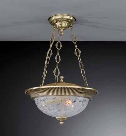 Подвесной светильник Reccagni Angelo PL 6212/3 потолочный светильник reccagni angelo l 6212 3