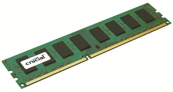 Оперативная память 2Gb (1x2Gb) PC3-12800 1600MHz DDR3L DIMM CL11 Crucial CT25664BD160B модуль памяти crucial ddr3l so dimm 1600mhz pc3 12800 cl11 2gb ct25664bf160bj