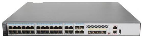 Купить со скидкой Коммутатор Huawei S5720-36C-EI-AC 24 порта 10/100/1000Mbps 4xSFP 02359562
