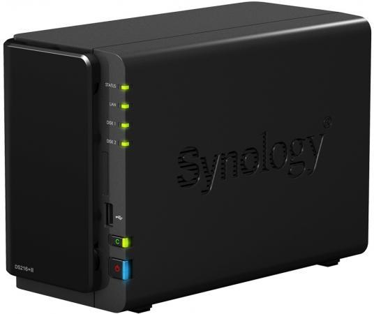 цена на Сетевой накопитель Synology DS216+II