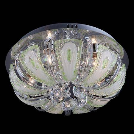 Потолочный светильник с пультом ДУ Eurosvet 5597/5 хром/зеленый+синий+голубой бритва браун 1508 тип 5597