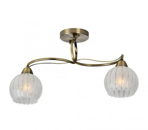Потолочный светильник IDLamp Brunilda 237/2PF-Oldbronze