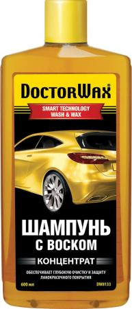 Шампунь с воском Doctor Wax DW 8133 автошампунь shell wax shampoo с воском 500мл