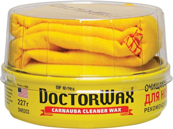 Пастообразная очищающая полироль защита с воском Doctor Wax DW8203 Карнауба