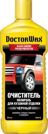 Очиститель-полироль для кузовной отделки черного цвета Doctor Wax DW 8316 реставратор покрышек doctor wax dw 5343