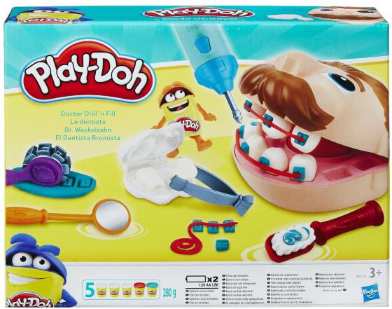 Набор пластилина Hasbro Play-Doh Мистер Зубастик B5520EU4 игровой набор с пластилином play doh b5520 мистер зубастик обновленная версия