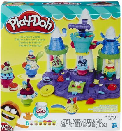 Набор для творчества Hasbro Play-Doh Замок мороженого B5523 набор для творчества hasbro play doh фабрика мороженого в0306