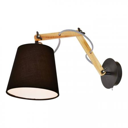 Спот Arte Lamp Pinoccio A5700AP-1BK arte lamp бра pinoccio a5700ap 1wh