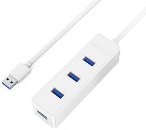 Концентратор USB 3.0 Orico W5PH4-U3-WH 4 х USB 3.0 белый