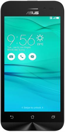 Смартфон ASUS Zenfone Go ZB452KG черный 4.5 8 Гб Wi-Fi GPS 3G 90AX0141-M01130 телефон asus zenfone go zb500kl 16gb золотой